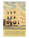 Admiral Hotel, Bismarck, North Dakota Prints