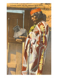 San Ildefonso Pueblo Potter, New Mexico Posters