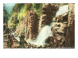 The Flume, Franconia Notch, New Hampshire Affiches