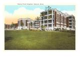 Henry Ford Hospital, Detroit, Michigan Prints