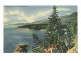 Flathead Lake, Montana Poster
