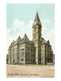 City Hall, St. Paul, Minnesota Print