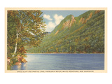 Eagle Cliff, Profile Lake, New Hampshire Poster