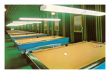 Empty Pool Parlor, Retro Posters