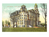 High School, Flint, Michigan Prints