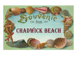 Souvenir from Chadwick Beach, New Jersey Prints