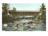 Swift River Bridge, Conway, New Hampshire Prints