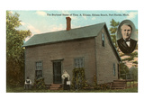 Boyhood Home of Edison, Port Huron, Michigan Print
