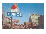 Calle Revolucion in Tijuana Posters