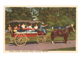 Village Carriage, Dearborn, Michigan Prints