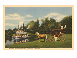 Riverboat, Dearborn, Michigan Print