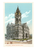 City Hall, Grand Rapids, Michigan Prints
