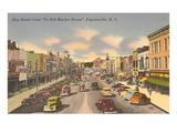 Hay Street, Fayetteville, North Carolina Kunstdrucke