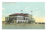 Boat Club, Detroit, Michigan Prints