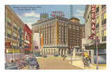 Monroe Avenue, Grand Rapids, Michigan Print