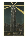 Night, Foshay Tower, Minneapolis, Minnesota Prints