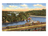 Mississippi River, Minneapolis, Minnesota Posters