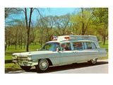 Cadillac Ambulance, Retro Prints