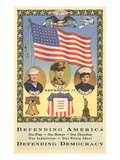 Defending America, Branches of Service Posters