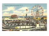 Playland, Wildwood-by-the-Sea, New Jersey Prints