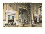 Lobby, Union Station, Kansas City, Missouri Prints