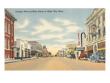 Main Street, Miles City, Montana Prints