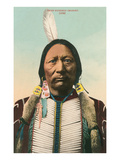 Ute Indian Chief Buckskin Charley Art