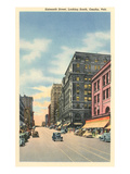 Downtown, 16th Street, Omaha, Nebraska Posters