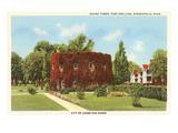 Round Tower, Ft. Snelling, Minneapolis, Minnesota Prints