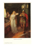 Scene from Tristan und Isolde Prints