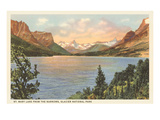 St. Mary Lake, Glacier Park, Montana Posters