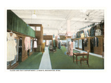 Interior, Lyman's Department Store, Rochester, Minnesota Posters