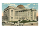 County Courthouse, Omaha, Nebraska Print