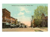 Montana Avenue, Billings, Montana Prints