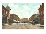 Locust Street, Allegan, Michigan Poster
