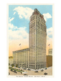 Book Tower Building, Detroit, Michigan Poster
