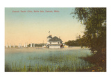 Yacht Club, Belle Isle, Detroit, Michigan Posters