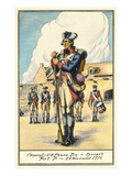 Corporal, Fort Ticonderoga Prints