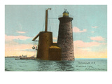 Whaleback Lighthouse, Portsmouth, New Hampshire Posters