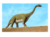 Roadside Brontosaurus Prints