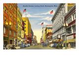 Nicollet Avenue, Minneapolis, Minnesota Prints