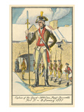 Captain of the Guard, Fort Ticonderoga Prints