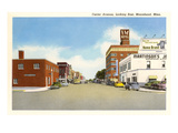 Center Avenue, Moorhead, Minnesota Prints