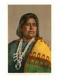 Elle of Ganado, Navajo Weaver Poster