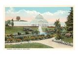 Greenhouse, Como Park, St. Paul, Minnesota Kunstdrucke