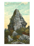 Sugar Loaf Rock, Mackinac Island, Michigan Posters