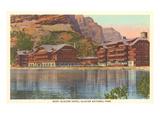 Many Glacier Hotel, Glacier Park, Montana Print