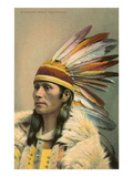 Standing Wolf, Cheyenne Indian Poster