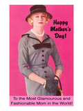 Happy Mothers Day, Glamorous and Fashionable Prints