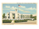 Hall of Waters, Excelsior Springs, Missouri Print